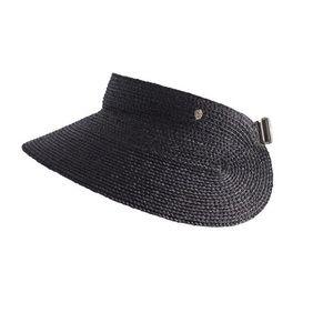 Helen Kaminzki black woven visor